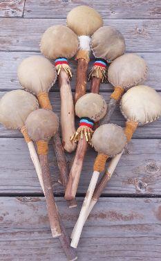 Native American rattles