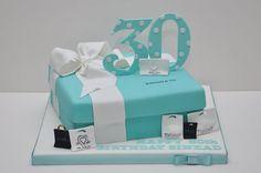 Tiffany 30th Birthday Cake
