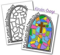 FREE Lenten Good Deeds chart