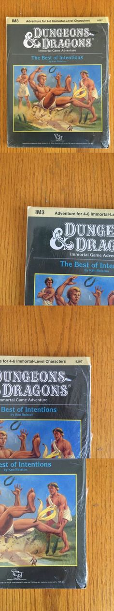 Adventure Modules 44113: Rare Dungeons And Dragons Module - Im3 The Best Of Intentions Dandd Tsr Brand New Sw -> BUY IT NOW ONLY: $99.99 on eBay!