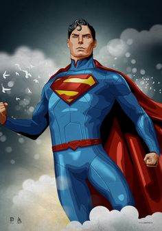 Superman (Christopher Reeve Tribute) by dimitrosw on DeviantArt