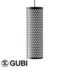 The Pedrera PD5 ANA Pendant Light by Gubi is a cylindrical pendant lamp made of perforated metal. Available at www.allmodernoutlet.com http://www.allmodernoutlet.com/gubi-pedrera-pd5-ana-pendant-light/