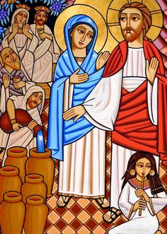 Wedding at Cana (coptic)