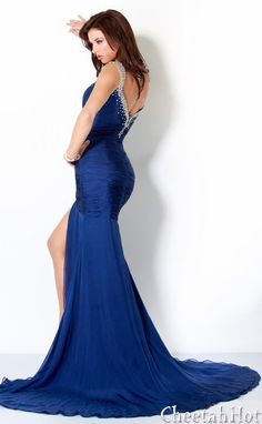 JOVANI - Stunning Blue Gown