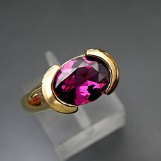 Your place to buy and sell all things handmade White Gold Jewelry, Yellow Gold Rings, Sterling Silver Jewelry, Rose Gold, Gems Jewelry, Beautiful Rings, Ring Designs, Jewelry Stores, Halo