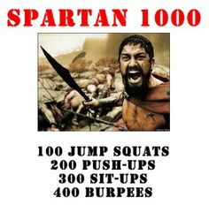 Forte Fitness | Orlando Boot Camp | Fitness Boot Camp in Orlando FL » Blog Archive » Weekend Warrior Workout: Spartan Challenge! (YEAH baby!)