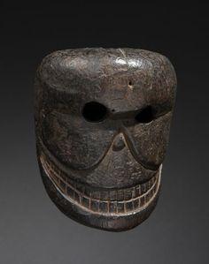 Citipati mask, Tibet or Nepal