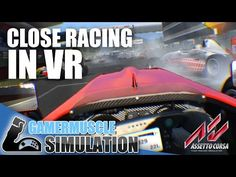 Incredible Online Racing in Virtual Reality - Oculus Rift - Assetto Corsa - YouTube