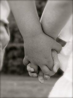 Little hands.