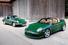Targa in Irish Green