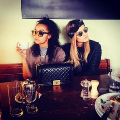 Ooot & aboot  Leigh Anne and Perrie in Ireland