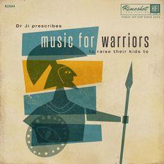 Music for Warriors…to raise their kids to —Printmaker,JEAN MOSAMBI