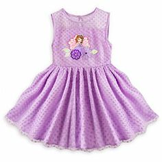 I think my Emmie girl would love this! Disney Sofia Deluxe Sleeveless Dress for Girls | Disney StoreSofia Deluxe Sleeveless Dress for Girls - Our Sofia deluxe dress is a ready-to-wear royal sensation. Perfect for parties, balls and curtsey lessons, this tulle-covered dress-up day frock will make her feel like a princess-to-be wherever she goes.