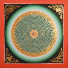 Mantra Mandala - Medicine Buddha