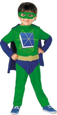 Toddler Boys Super Why Costume - Party City