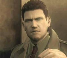 Snake dressed as a civilian.