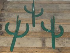 horse shoe cactus wall hangers