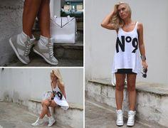 My Asos Sneaker Wedges (by Dena T) http://lookbook.nu/look/3864136-My-Asos-Sneaker-Wedges