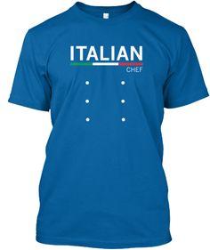 Italian chef. Voor alle Italiaanse koks ! Er is er op dit moment al 1 verkocht !