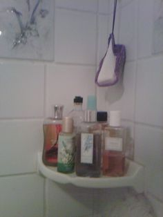 Some of my shower gels and soaps. Just love em. Nothing like a nice hot shower to relax!