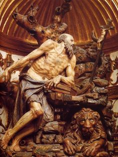 Diego de Siloe. San Jerónimo en la Capilla del Condestable, Catedral de Burgos.