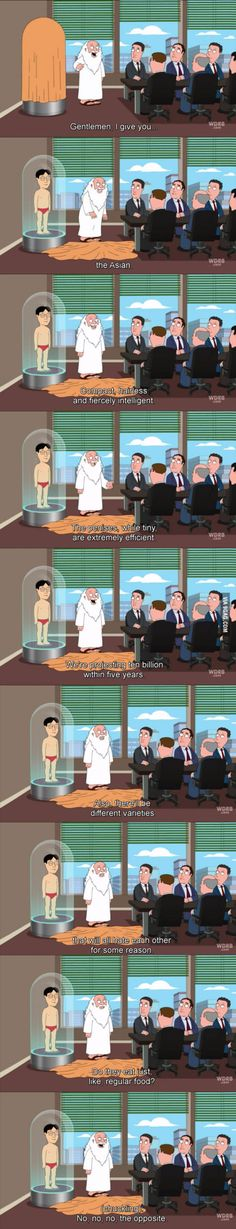 That's why I love Family Guy