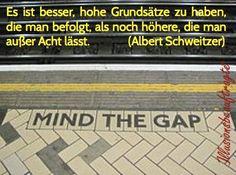 """Mind the gap! Das gibt es oft """"einen Graben"""" zwischen dem was wir sagen und dem was wir tun. Es geht darum diesen Graben immer mehr zu schließen, um zu unsere Werte in die Welt zu bringen."""