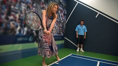 WTA Legend and two-time US Open champion Monica Seles also surprised fans at an…