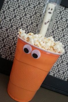 fun and healthy snack for school Halloween party