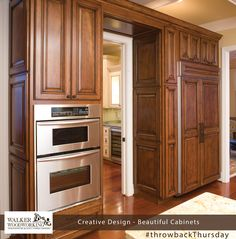 Here is a throwback to 2007.  #throwbackThursday #walkerwoodworking #beautifulcabinets #shelbync #charlotte #asheville #designinspiration  #Greenbrookdesign
