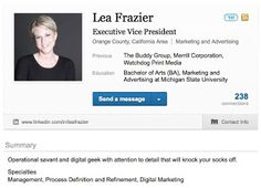 Using LinkedIn to generate business, starts with your profile