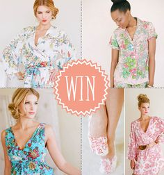 Magnolia rouge! Gorgeous robe give away