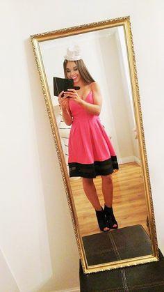 Skater Dress, Oversized Mirror, Dresser, Decor, Powder Room, Decoration, Stained Dresser, Decorating, Credenza
