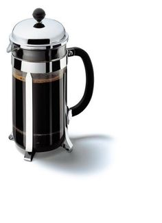 Bodum 1928 Chambord Coffee Maker - Stainless Steel - 8 Cup /1.0 L: Amazon.co.uk: Kitchen & Home