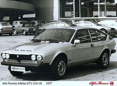 Alfa Romeo Alfetta GTV 2.6i V8 (1977)