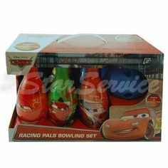 New Disney Cars Bowling Set  Boys Kids Birthday Gift Toy 6 Pins  1 Ball *** Want additional info? Click on the image.