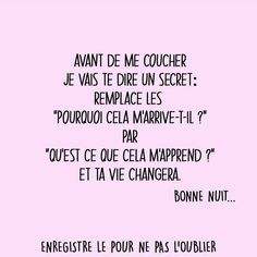 Positive Mind, Positive Attitude, Citations Yoga, Motivational Quotes, Inspirational Quotes, Quote Citation, Self Care Activities, French Quotes, True Facts