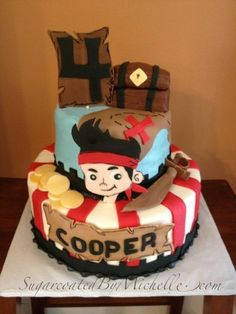 Jake and the Neverland Pirates  Cake by SugarcoatedByM