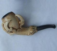 Meerschaum Claw Pipe E Pipe, Garlic Press, Claws