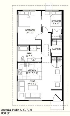 Cabin Style House Plan - 2 Beds 2 Baths 1665 Sq/Ft Plan