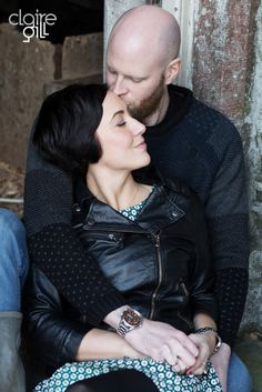 Couple in love on a photographic portrait session http://clairegill.photography