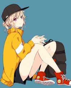 Drawing cute ideas anime girls 35 New ideas Cool Anime Girl, Pretty Anime Girl, Beautiful Anime Girl, Kawaii Anime Girl, Anime Art Girl, Manga Art, Anime Chibi, Fanarts Anime, Manga Anime