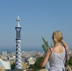 The view across #Barcelona from Park Guell
