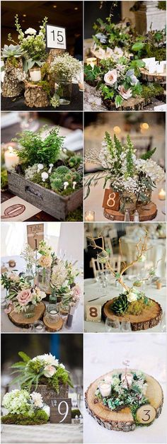 122 Best Enchanted Forest Wedding Ideas You'll Want To Steal Wedding Centerpieces Table Card Rusic Wood Flora Greenery forest wedding ide. Rustic Candles, Rustic Wedding Centerpieces, Wedding Table Centerpieces, Flower Centerpieces, Forest Wedding Decorations, Centerpiece Ideas, Ideas Candles, Ceremony Decorations, Candle Decorations