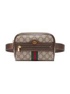 987e61839886 Gucci Brown Ophidia GG Supreme Small Belt Bag - Farfetch