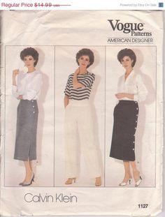 SALE Vintage 1980s American Designer sewing by beththebooklady, $11.99