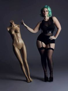 I know Im not a pkus size. But I think they are absolutly beautiful! Plus Size Models