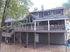 NOW BOOKING SUMMER! Luxurious Lakefront: Theater, Billiards, Bar & More!Vacation Rental in Lake Wallenpaupack from @homeaway! #vacation #rental #travel #homeaway