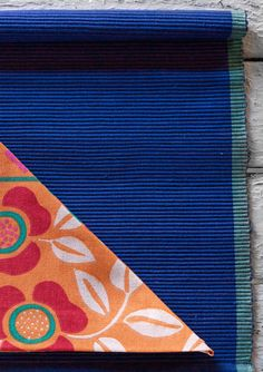 Rep weave place mat in eco-cotton – Theme Norway – GUDRUN SJÖDÉN – Webshop, mail order and boutiques   Colorful clothes and home textiles in natural materials.