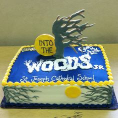 Cake for the musical Into the Woods